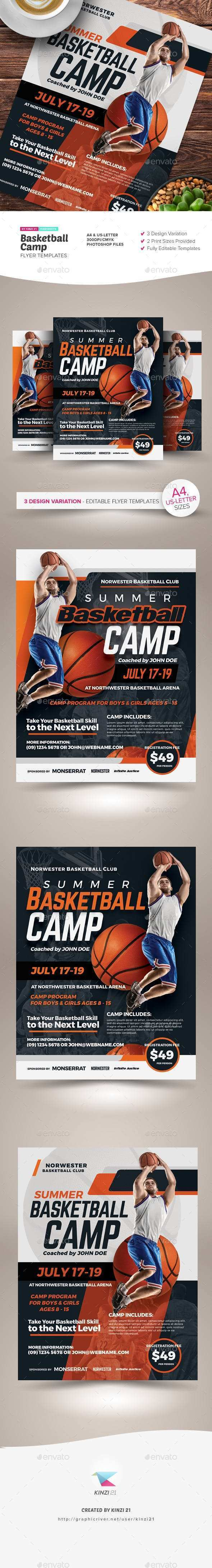 48 Best Basketball Camp Flyer Template Templates by Basketball Camp Flyer Template