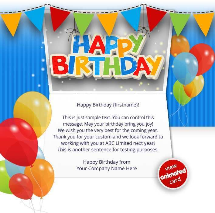 48 Best Birthday Card Html Template For Free for Birthday Card Html Template