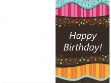 Happy Birthday Card Template Microsoft Word
