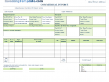 48 Blank Template Of Company Invoice in Word by Template Of Company Invoice