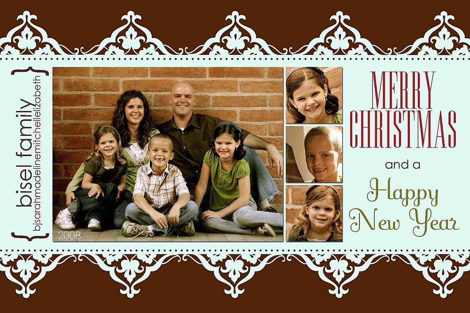 48 Christmas Card Collage Templates PSD File for Christmas Card Collage Templates