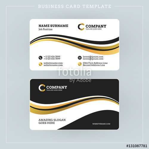 48 Create Adobe Illustrator Double Sided Business Card Template with Adobe Illustrator Double Sided Business Card Template