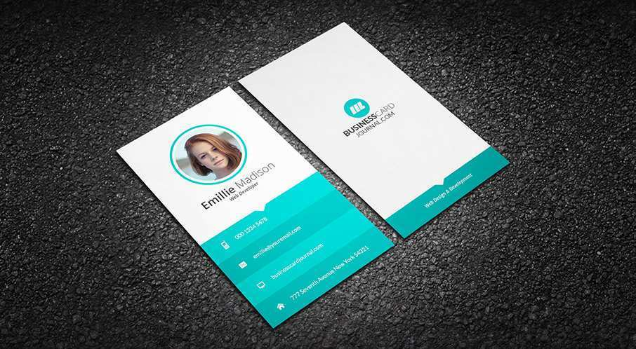 48 Create Business Card Templates With Photo in Word by Business Card Templates With Photo