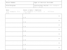 Excel Invoice Template Hourly Rate