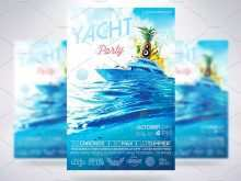 Boat Party Flyer Template Psd Free