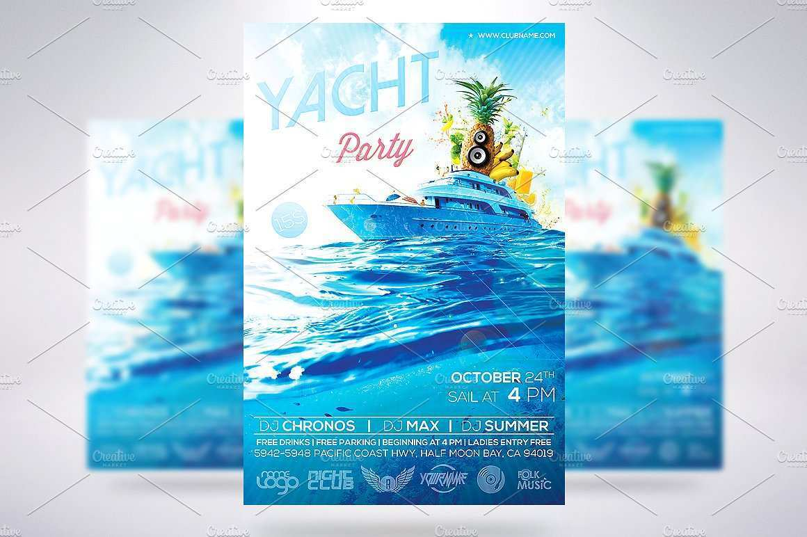 48 Creating Boat Party Flyer Template Psd Free for Ms Word by Boat Party Flyer Template Psd Free
