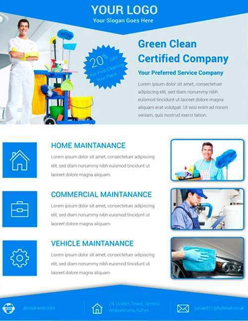 48 Creative Cleaning Services Flyer Templates in Photoshop with Cleaning Services Flyer Templates