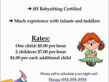 48 Customize Babysitting Flyer Templates For Free by Babysitting Flyer Templates