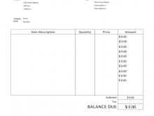 48 Customize Blank Service Invoice Template Pdf Templates with Blank Service Invoice Template Pdf