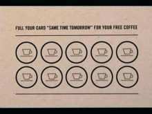 48 Customize Our Free Coffee Loyalty Card Template Free Download With Stunning Design by Coffee Loyalty Card Template Free Download