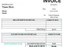48 Format Car Repair Invoice Template Pdf Photo for Car Repair Invoice Template Pdf