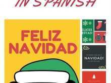 48 Free Christmas Card Template Spanish Now for Christmas Card Template Spanish