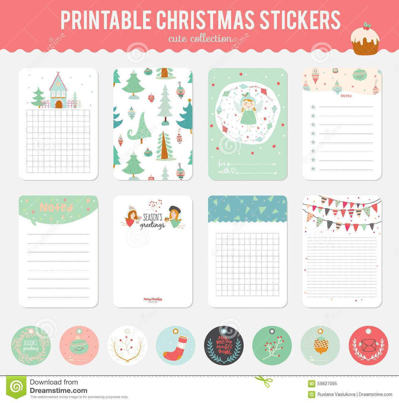 48 Free Printable Christmas Note Card Template for Ms Word for Christmas Note Card Template