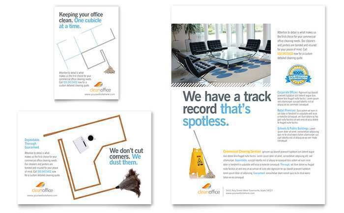 48 Free Printable Commercial Cleaning Flyer Templates Maker by Commercial Cleaning Flyer Templates
