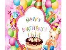 48 Free Printable Design A Birthday Card Template for Ms Word for Design A Birthday Card Template