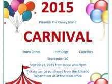 48 Free School Carnival Flyer Template in Photoshop with School Carnival Flyer Template