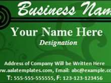 48 How To Create Calling Card Template For Word For Free by Calling Card Template For Word