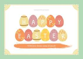 48 How To Create Easter Card Photo Templates for Ms Word by Easter Card Photo Templates