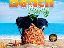 48 Online Beach Flyer Template Free Templates with Beach Flyer Template Free