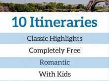 48 Printable 3 Day Travel Itinerary Template PSD File by 3 Day Travel Itinerary Template