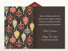 48 Printable Christmas Card Greetings Template For Free for Christmas Card Greetings Template