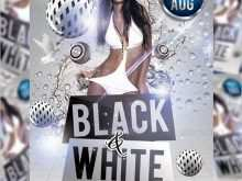 48 Visiting All White Party Flyer Template Free Maker with All White Party Flyer Template Free