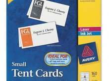 48 Visiting Avery Laser Tent Card Template Maker by Avery Laser Tent Card Template