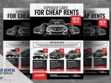 48 Visiting Car Flyer Template PSD File with Car Flyer Template