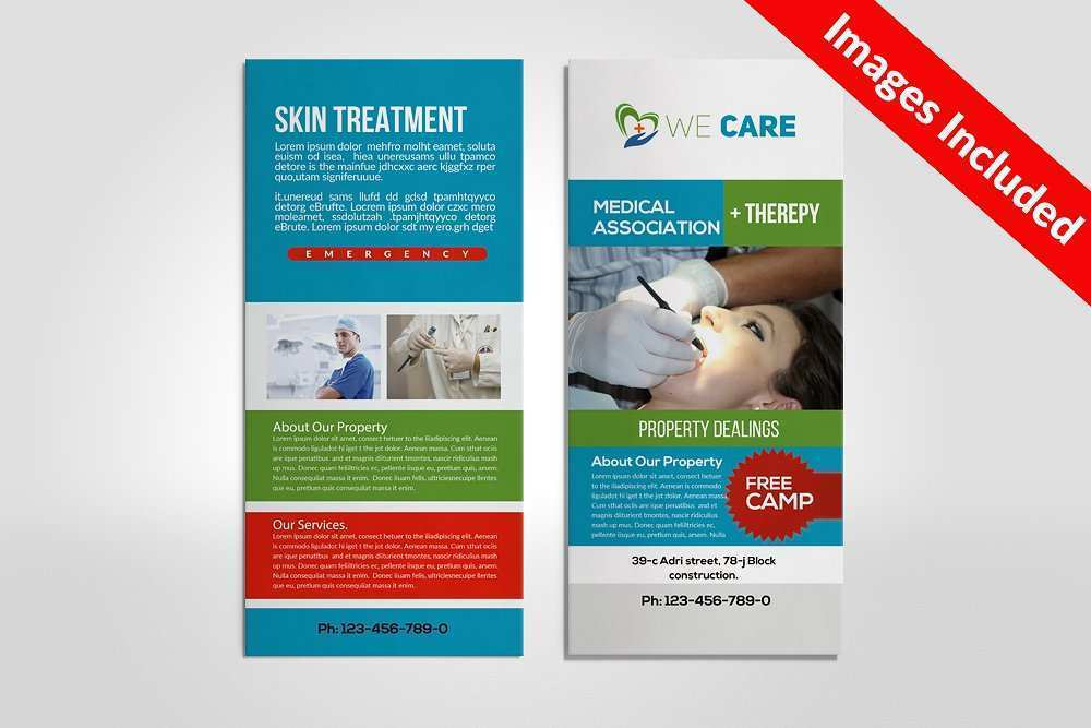 48 Visiting Rack Card Template For Word For Free by Rack Card Template For Word