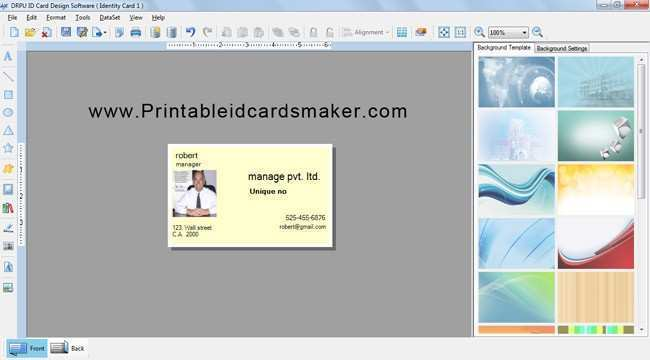 49 Adding Id Card Template Design Software For Free for Id Card Template Design Software