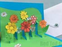 49 Adding Pop Up Flower Card Tutorial Handmade Formating with Pop Up Flower Card Tutorial Handmade