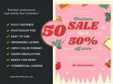 49 Best Christmas Sale Flyer Template Photo with Christmas Sale Flyer Template