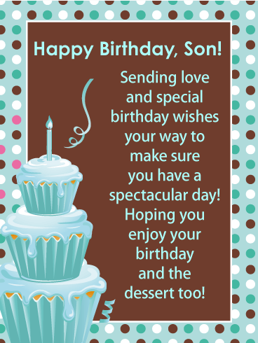 Cool 49 Birthday Card Templates For Son With Stunning Design By Personalised Birthday Cards Paralily Jamesorg