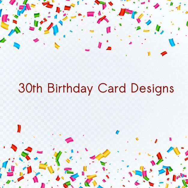 49 Blank 30Th Birthday Card Template Maker for 30Th Birthday Card Template