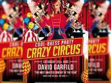 49 Blank Circus Flyer Template Free for Ms Word for Circus Flyer Template Free