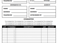 49 Blank Construction Invoice Template Layouts by Blank Construction Invoice Template
