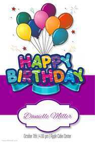 49 Blank Design A Birthday Card Template Layouts for Design A Birthday Card Template