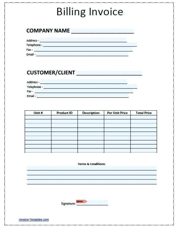 49 Blank Garage Invoice Example In Photoshop With Garage Invoice Example Cards Design Templates