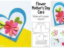 49 Blank Mother S Day Card Craft Template With Stunning Design by Mother S Day Card Craft Template