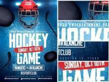 49 Create Free Hockey Flyer Template in Photoshop for Free Hockey Flyer Template
