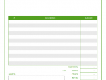 49 Create Job Invoice Template Excel For Free by Job Invoice Template Excel