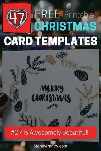 Make Your Own Christmas Card Templates Cards Design Templates
