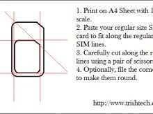 49 Create Sim Card Cut Template Print Templates with Sim Card Cut Template Print
