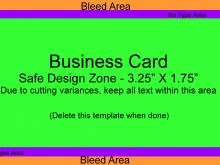 49 Creative Business Card Template Bleed Formating with Business Card Template Bleed