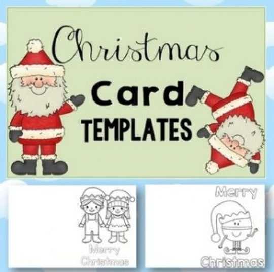 49 Customize Christmas Card Templates Kindergarten Photo by Christmas Card Templates Kindergarten