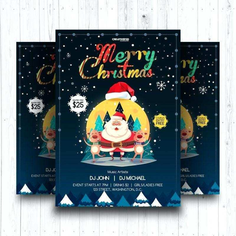 49 Customize Christmas Flyer Word Template Free Download by Christmas Flyer Word Template Free