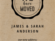 49 Customize Our Free Free Printable Moving Announcement Card Template for Ms Word with Free Printable Moving Announcement Card Template