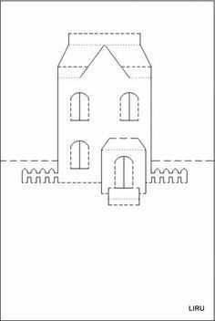 49 Customize Our Free Pop Up Card Templates House Now for Pop Up Card Templates House