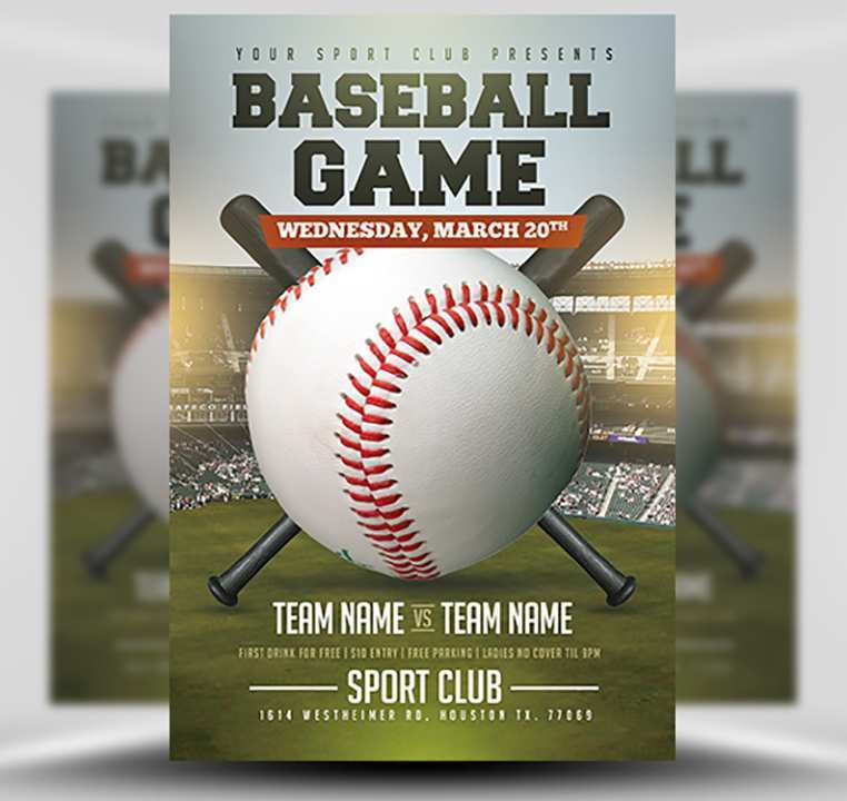 49 Format Baseball Flyer Template Free Now for Baseball Flyer Template Free