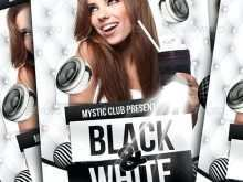 49 Format Black And White Party Flyer Template in Photoshop by Black And White Party Flyer Template